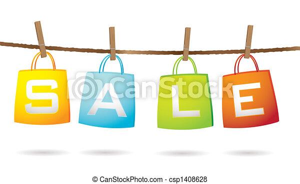 袋, ワイヤー, セール - csp1408628