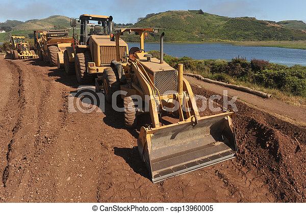 装置, 建設, 駐車される, 海洋 - csp13960005