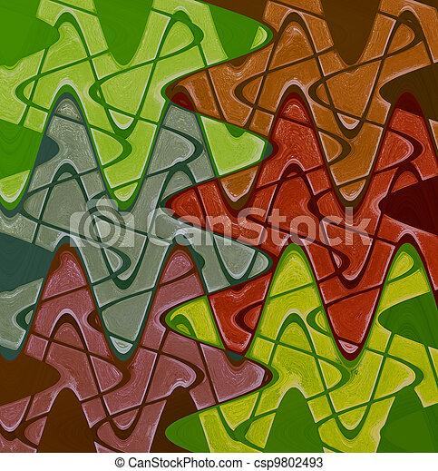 装飾用である, ガラス, 色 - csp9802493