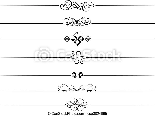 装飾用である, 仕切り, ページ - csp3024895