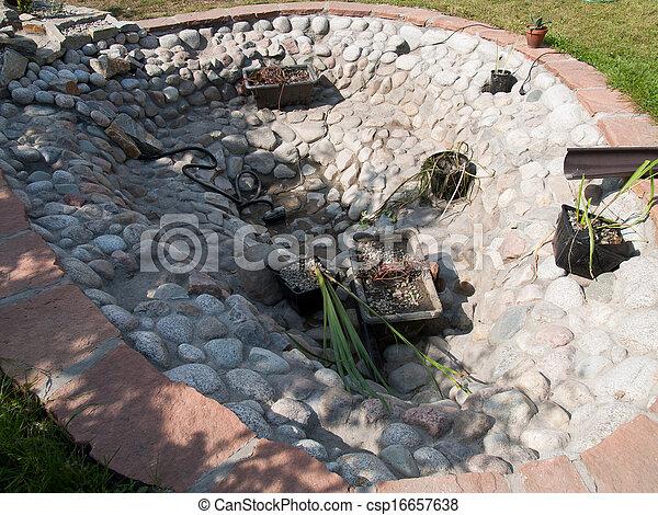 装飾用, 池 - csp16657638