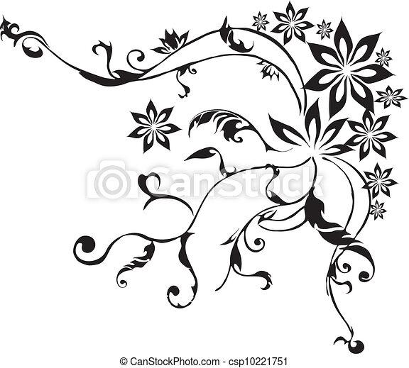 装飾用, 花 - csp10221751