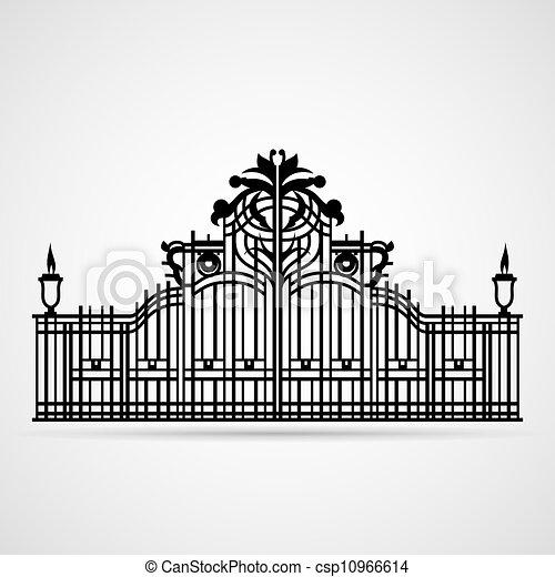 装飾用, 門 - csp10966614