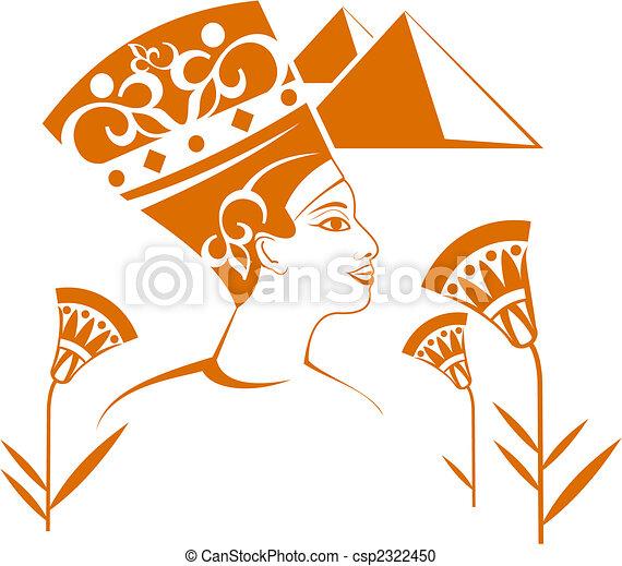 装飾, エジプト人 - csp2322450