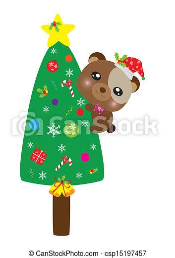 装飾, クリスマス - csp15197457
