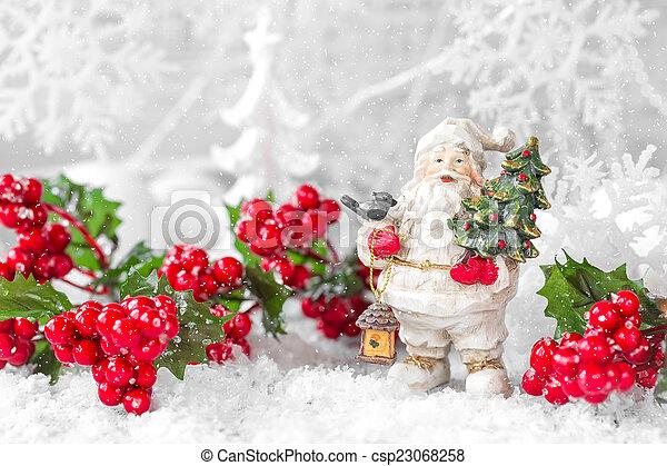 装飾, クリスマス - csp23068258