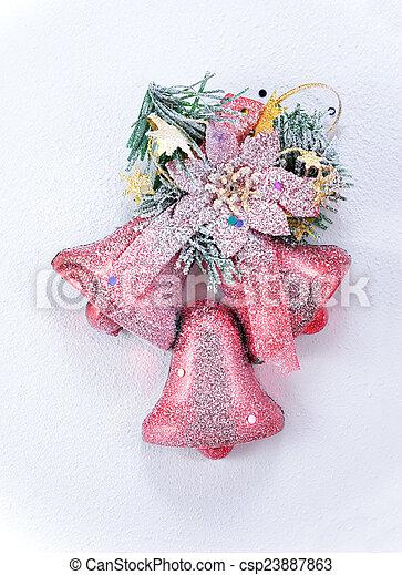 装飾, クリスマス - csp23887863