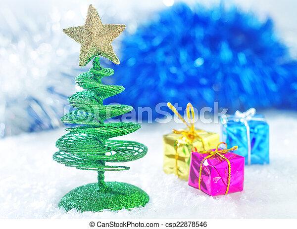 装飾, クリスマス - csp22878546