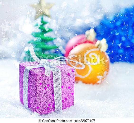 装飾, クリスマス - csp22973107