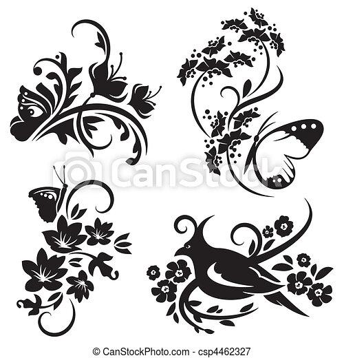 装飾, 中国語, セット - csp4462327