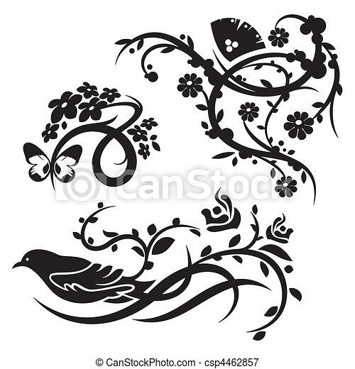 装飾, 中国語, セット - csp4462857