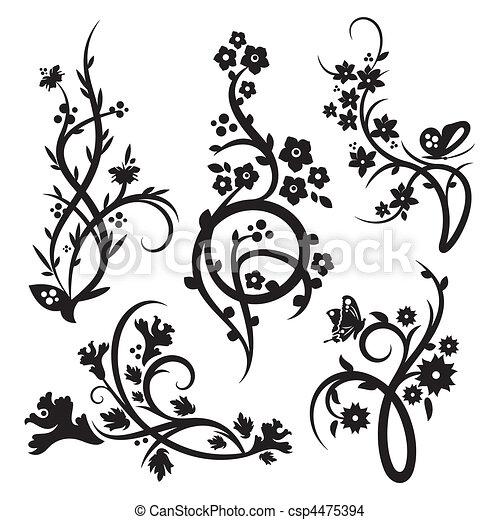 装飾, 中国語, セット - csp4475394
