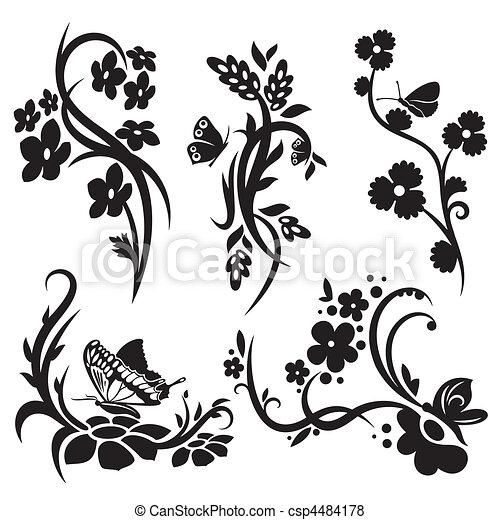 装飾, 中国語, セット - csp4484178