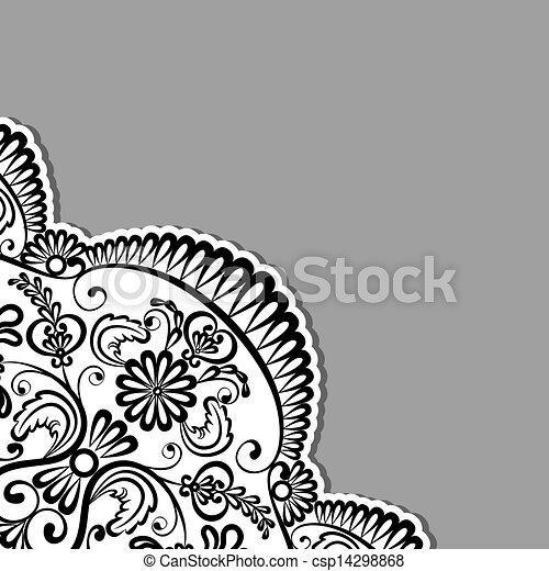 装饰品, 植物群 - csp14298868