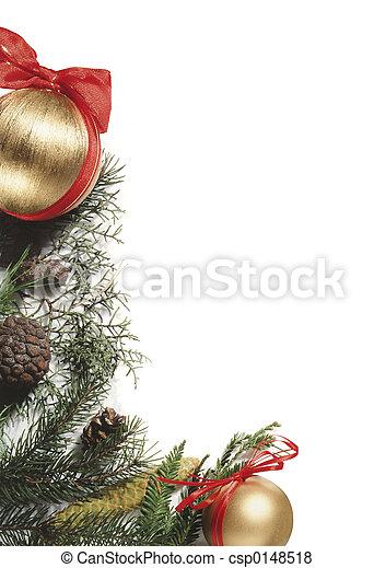 装饰物, 圣诞节 - csp0148518