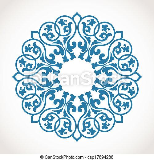 装饰物, pattern., 绕行 - csp17894288