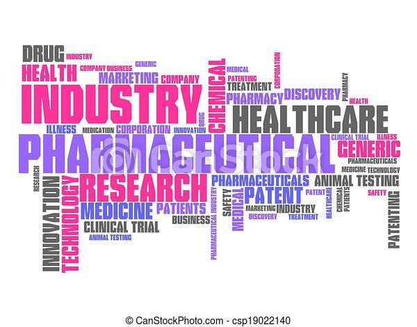 製薬産業 - csp19022140
