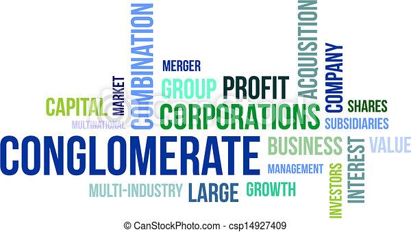 複合企業, 単語, -, 雲. 複合企...