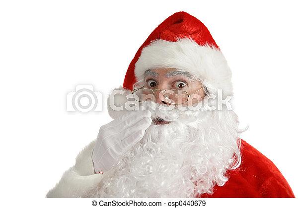 見いだされた, claus, -, santa, から - csp0440679