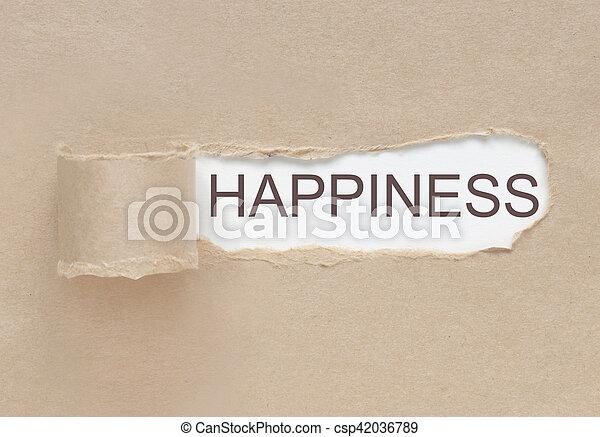 見つけること, 幸福 - csp42036789