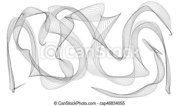 見なさい イラスト 黒煙 波 3d のように 見なさい 背景
