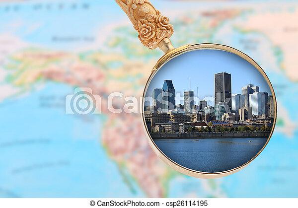 見る, カナダ, モントリオール - csp26114195