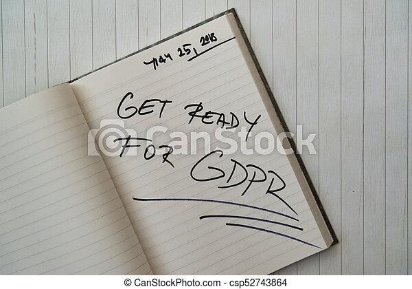規定, 保護, 數据, (gdpr), 一般 - csp52743864
