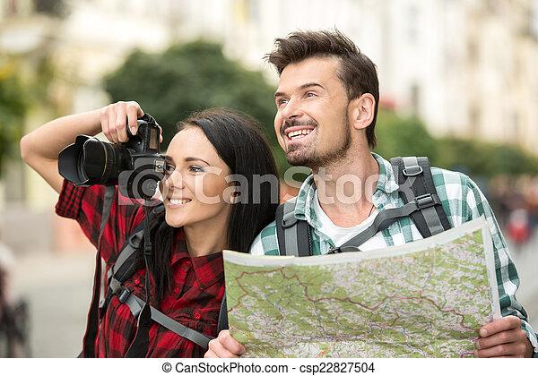 観光客 - csp22827504