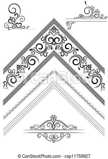 角落, 裝飾品, pag - csp11759927