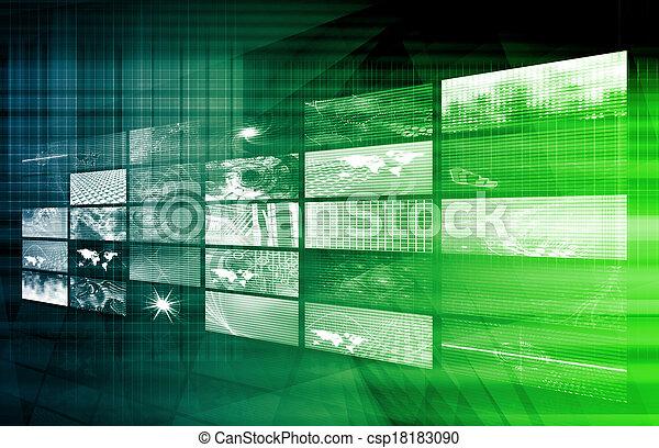 解決, デジタル - csp18183090