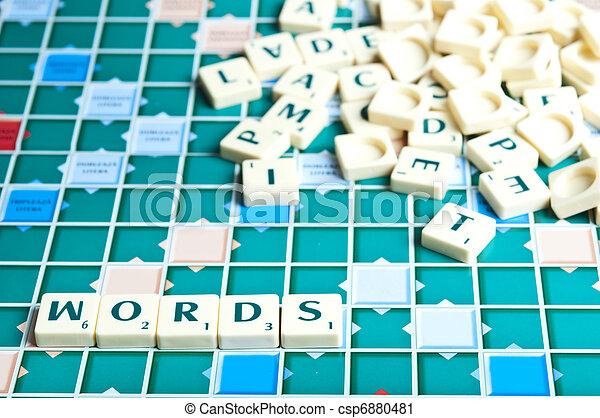 言葉 - csp6880481