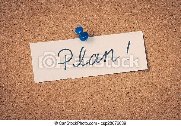計画 - csp28676039