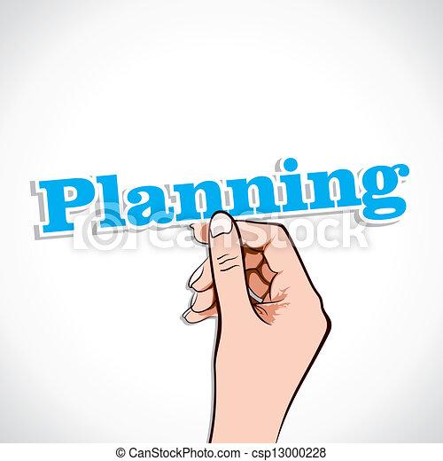 計画, 単語 - csp13000228