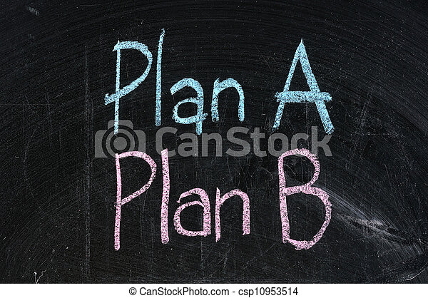 計画, 板, シンボル, ビジネス, 黒, 選択肢, 計画, 隔離された, 作戦, 選択, b - csp10953514