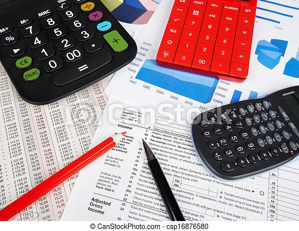 計算機, objects., オフィス - csp16876580