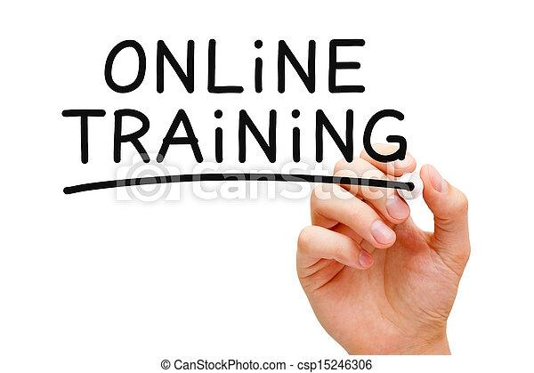 訓練, オンラインで - csp15246306