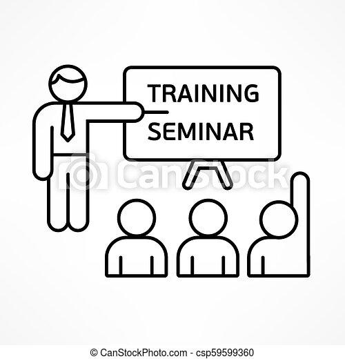 訓練, セミナー - csp59599360