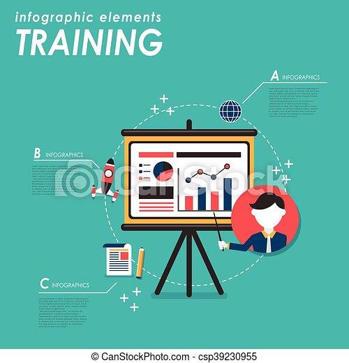 訓練, 概念, ビジネス - csp39230955