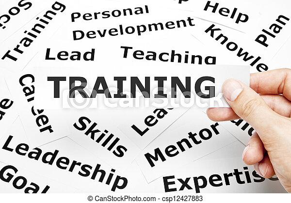 訓練, 概念 - csp12427883