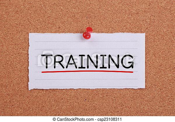 訓練, 概念 - csp23108311