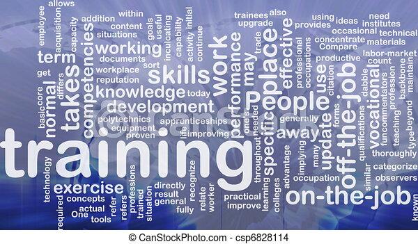 訓練, 概念, 背景 - csp6828114