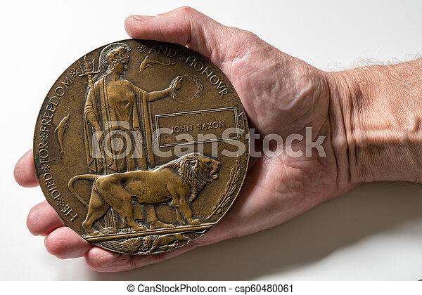 記念, 1, 兵士, プラク, 世界, 戦争, 死ぬ, 1916 - csp60480061