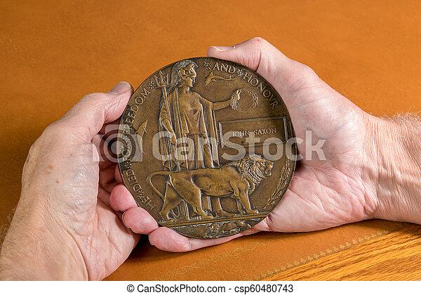 記念, 1, 兵士, プラク, 世界, 戦争, 死ぬ, 1916 - csp60480743