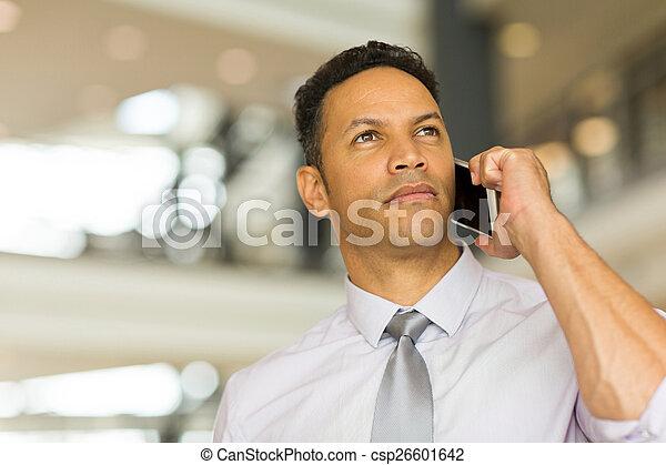 話し, 年齢, 中央の, 携帯電話, 人 - csp26601642