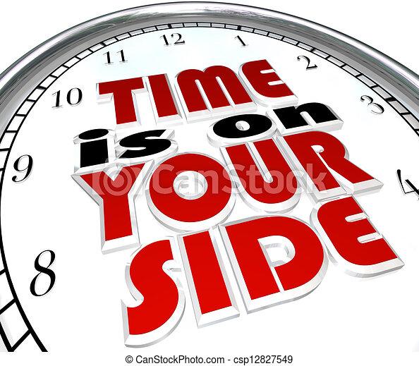 說, 鐘, 你, 詞, 時間, 邊 - csp12827549