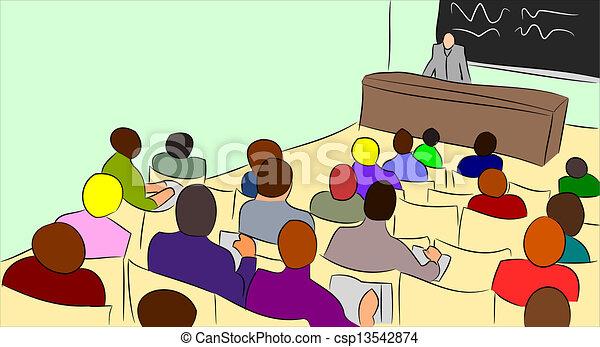 講義, 大学 - csp13542874