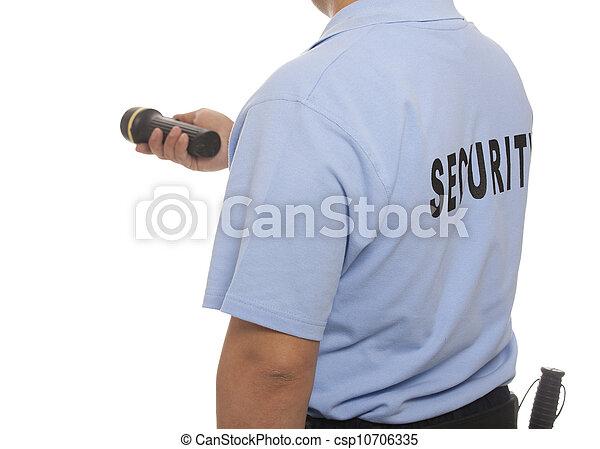 警備員 - csp10706335
