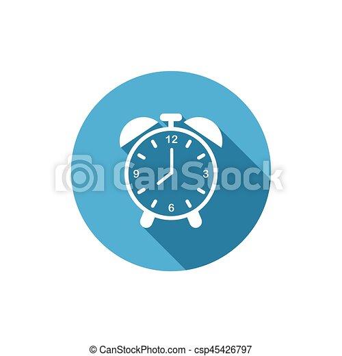 警報, 矢量, 鐘 - csp45426797