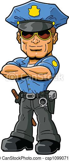 警官 - csp10990717