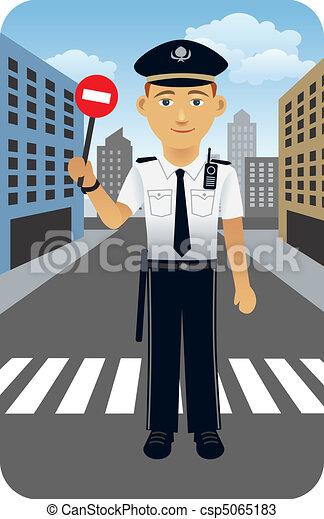 警官 - csp5065183